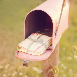 Letters in Mailbox