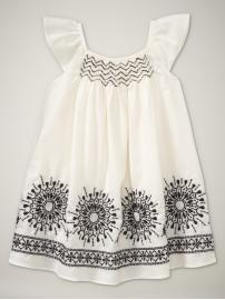 BabyGap Embroidered Smocked Dress