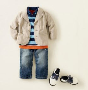 Children's Place Boys Spring Outfit