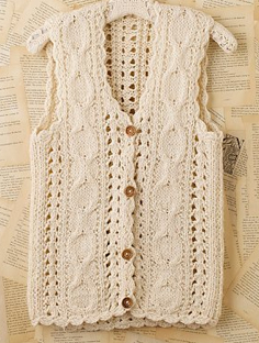 Womens Vests Sweater Vests Crochet Sweaters Shefinds