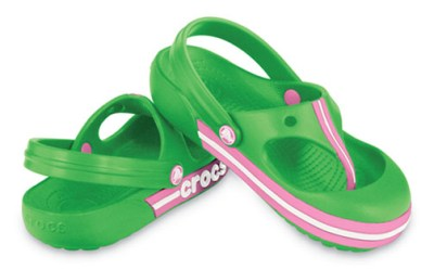 Crocs Crocband Toe Bumper Sandals