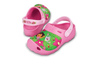 Crocs Dora & Boots Jungle Custom Clog