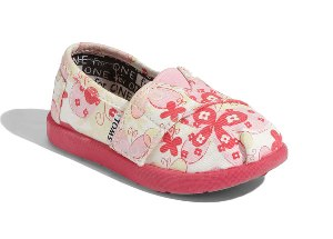 Disney, It's a Small World by TOMS 'Classic' Slip-On