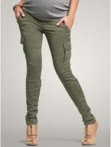 GapMaternity Demi panel skinny cargo pants