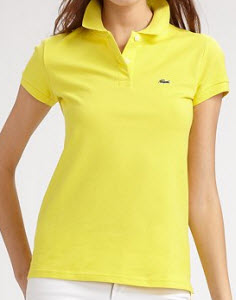 Lacoste Stretch Cotton Polo Top