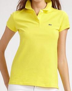 Lacoste Stretch Cotton Polo Top