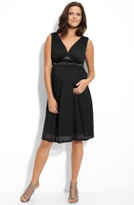 Maternal America Maternity Stretch Tulle Dress