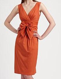 Max Mara Navale Bow Dress