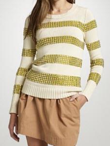 Natalie Studded Sweater