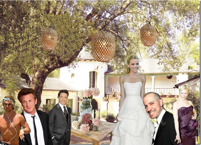Get The Scoop On Reese Witherspoon S Wedding Celeb Guests Rustic Decor More
