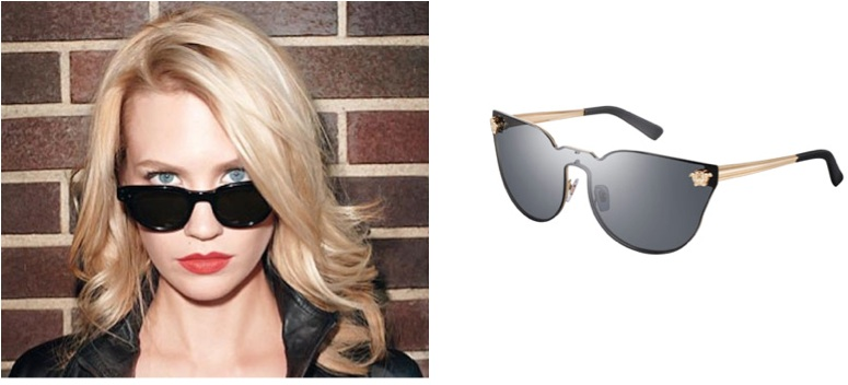 Celebrity Versace Sunglasses  january jones versace january j sunglasses cat eye sunglasses