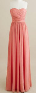 Silk Chiffon Arabelle Long Dress