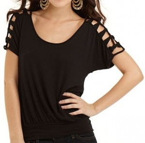 Stephanie Cut Out Top