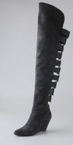 Giuseppe Zanotti Buckle Back Over The Knee Boots