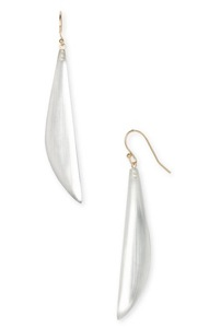 Alexis Bittar Lucite Sword Earrings