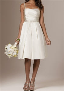 Elegant Short Wedding Dress