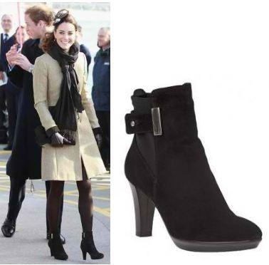 kate middleton boots aquatalia booties black
