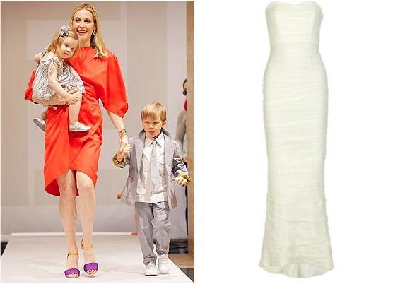 Kelly Rutherford Fendi | The Outnet Bridal Sale | DVF Wedding Dress
