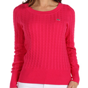 Lacoste Boatneck Sweater