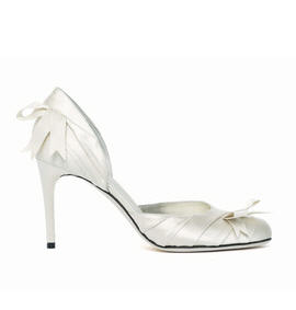 Nina Ricci Layered Crepe Pump