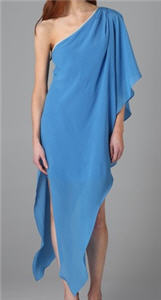 Thread Social  One Shoulder Caftan Dress