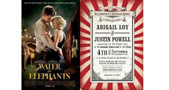 Your Daily Dose Of Eye Candy CircusThemed Invitations And Robert Pattinson