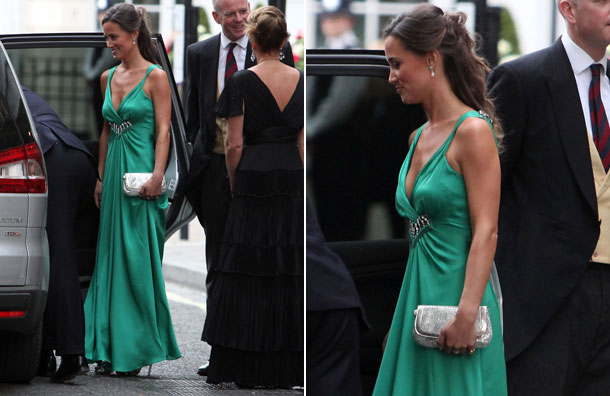pippa middleton bridesmaid dress. Kate Middleton#39;s sister, Pippa