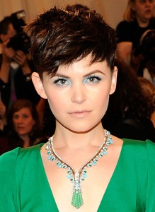 Ginnifer Goodwin's Aqua Eyeshadow