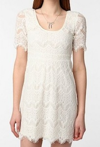 Pins and Needles 3/4 Sleeve Lace Dress
