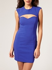 ASOS Cut Out Sweetheart Dress