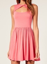 ASOS Keyhole Waisted Dress