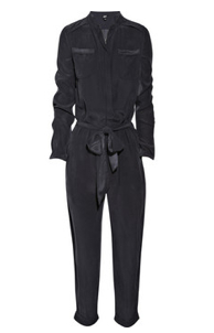 EDUN Brushed Silk Jumpsuit