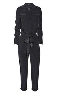 EDUN Brushed Silk Jumpsuit