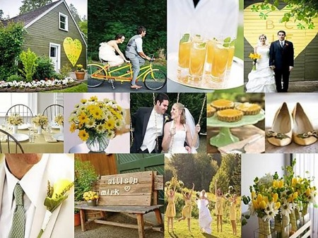 Lemon Lime Invitations Set The Stage For A Colorful Outdoor Wedding Shop
