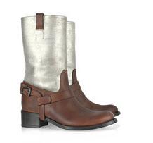Ralph Lauren Collection Metallic Boots