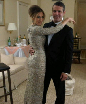 SJP and Andy Cohen
