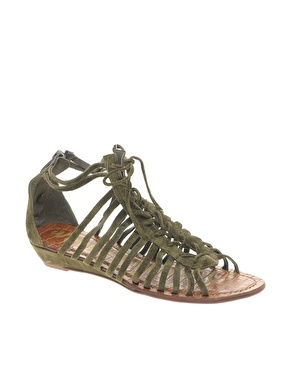 Sam Edelman Divine Lace Up Flat Sandal