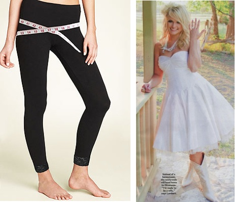 skineez leggings post baby fashion miranda lambert wedding dress