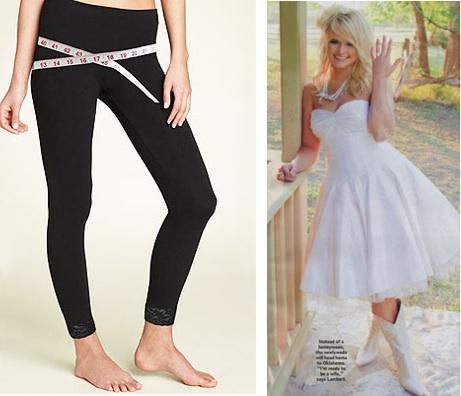 Skineez Leggings Post Baby Fashion Miranda Lambert Wedding Dress