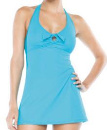 Spanx Assets Tie Swim Dress