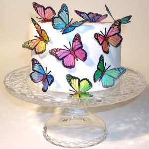 Spring Monarch Butterfly Cake