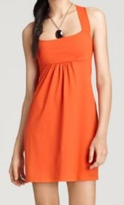 Susana Monaco Sleeveless Gathered High Back Dress