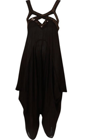 Topshop Black Beaded Hareem Jumpsuit