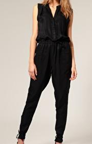 Vero Moda Very Cupro Sleeveless Jumpsuit