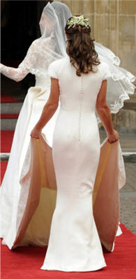 Pippa middleton dress js collections royal wedding for Knock off kate middleton wedding dress