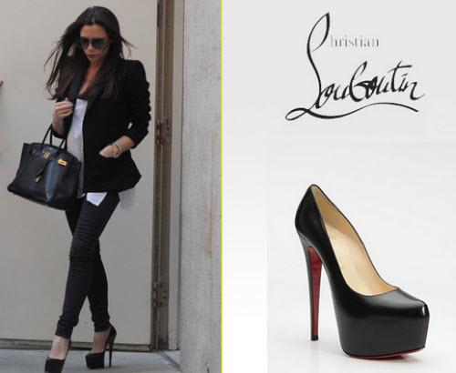 Christian Louboutin Daffodil Shoes   Victoria Beckham Daffodil ...