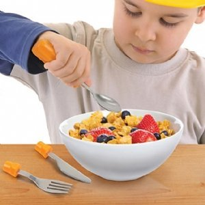 Fred & Friends Chewdriver Kids Eating Utensils