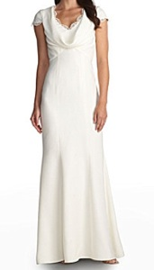 JS Collections Royalty-Inspired Cowlneck Wedding Gown