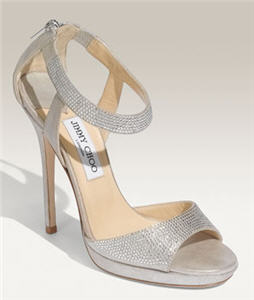 Jimmy Choo 'Lancer - Crystal Collection' Sandal