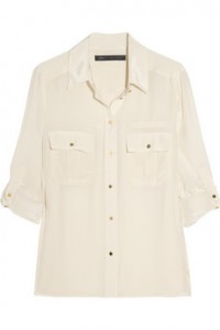 Marc by Marc Jacobs Simon Silk Shirt